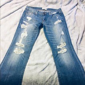 Abercrombie jeans destructed